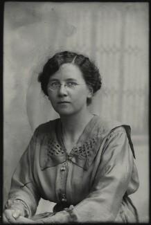 Winifred Margaret Broom, possibly by Mrs Albert Broom (Christina Livingston) - NPG x131432