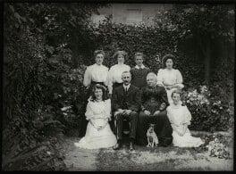Albert Edward Broom and family, possibly by Mrs Albert Broom (Christina Livingston) - NPG x131438