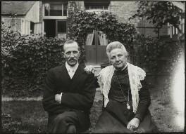 Albert Edward Broom; possibly Jane Broom (née Cosby), possibly by Mrs Albert Broom (Christina Livingston) - NPG x131439