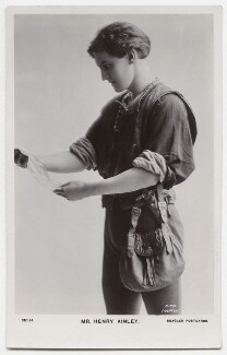Henry Hinchliffe Ainley as Orlando in 'As You Like It', by Rita Martin, published by  J. Beagles & Co, 1911 - NPG x131442 - © National Portrait Gallery, London