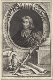 Thomas Sydenham, by Jacobus Houbraken, after  Sir Peter Lely - NPG D30041