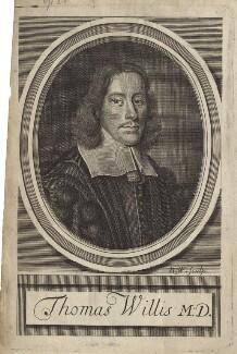 Thomas Willis, by Robert White, after  David Loggan - NPG D30045