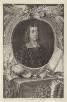 Thomas Willis, by George Vertue, after  David Loggan, published by  John & Paul Knapton - NPG D30048