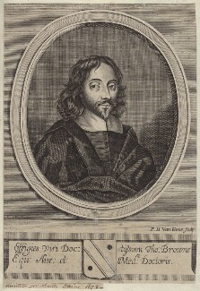 Sir Thomas Browne, by Frederick Hendrik van Hove - NPG D30050