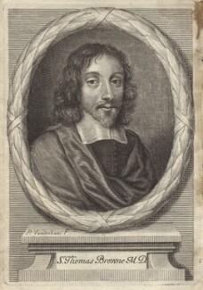 Sir Thomas Browne, by Peter Vanderbank (Vandrebanc) - NPG D30051