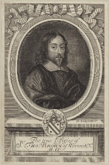 Sir Thomas Browne, by Robert White, published 1686 - NPG D30052 - © National Portrait Gallery, London