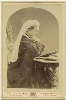 Queen Victoria, by W. & D. Downey - NPG x6855