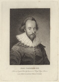 John Johnstone, published by Robert Wilkinson - NPG D30077