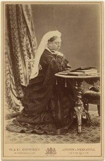 Queen Victoria, by W. & D. Downey - NPG x87692