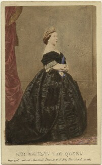 Queen Victoria, by Charles Clifford - NPG Ax46701