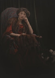 Olive Edis, by (Mary) Olive Edis (Mrs Galsworthy), or  Katharine Legat (née Edis), mid 1910s - NPG x45535 - © National Portrait Gallery, London