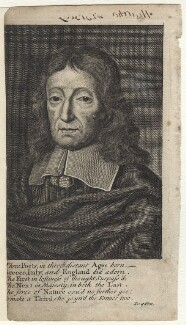 John Milton, possibly by George Vertue - NPG D30103