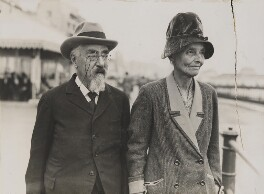 Sidney James Webb, Baron Passfield; Beatrice Webb, by Unknown photographer - NPG P1292(8)