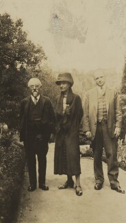 Sidney James Webb, Baron Passfield; Beatrice Webb and an unknown man, by Unknown photographer - NPG P1292(21)
