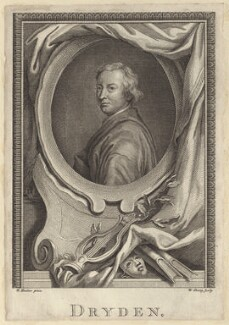 John Dryden, by William Sharp, after  Sir Godfrey Kneller, Bt - NPG D30119