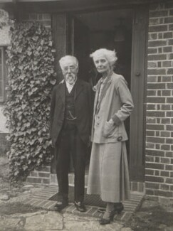 Sidney James Webb, Baron Passfield; Beatrice Webb, by Unknown photographer - NPG P1292(43)