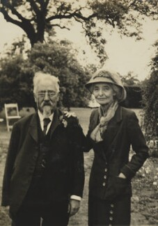 Sidney James Webb, Baron Passfield; Beatrice Webb, by Unknown photographer - NPG P1292(50)