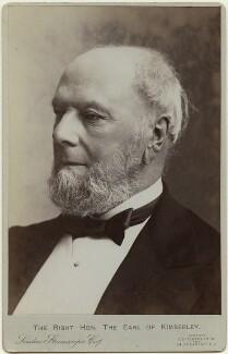 John Wodehouse, 1st Earl of Kimberley, by London Stereoscopic & Photographic Company - NPG x17091