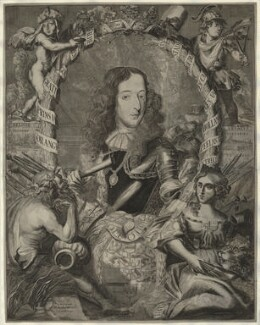 King William III, by Jacobus Allardt, after  Unknown artist - NPG D32761
