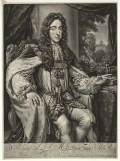 King William III, by Jan Verkolje, published by  Carel Allard - NPG D32762