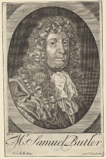 Samuel Butler, by Michael Vandergucht, after  Sir Peter Lely - NPG D30131