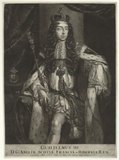 King William III, published by Nicolaes Visscher II, after  Unknown artist - NPG D32763