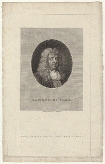 Samuel Butler, by James Heath, after  Gilbert Soest - NPG D30133