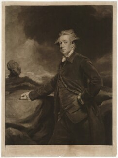 Lord Richard Cavendish, by John Raphael Smith, after  Sir Joshua Reynolds - NPG D32774