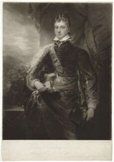 William Cavendish, by Henry Meyer, after  George Sanders (Saunders) - NPG D32776