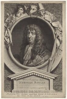 Samuel Butler, by George Vertue, after  Gilbert Soest, circa 1700-1725 - NPG D30135 - © National Portrait Gallery, London