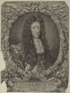 King William III, by and published by Robert White - NPG D32767