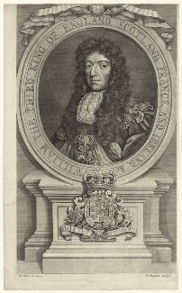 King William III, by Robert Sheppard, after  Robert White - NPG D32769
