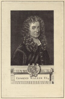 Edmund Waller, possibly after Sir Godfrey Kneller, Bt - NPG D30144
