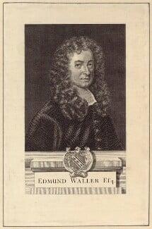 Edmund Waller, possibly after Sir Godfrey Kneller, Bt - NPG D30144