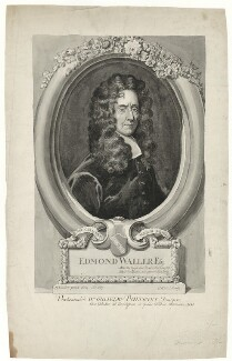 Edmund Waller, after Sir Godfrey Kneller, Bt - NPG D30147