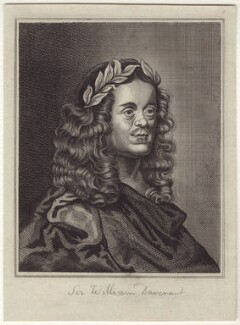Sir William Davenant, after John Greenhill - NPG D30152