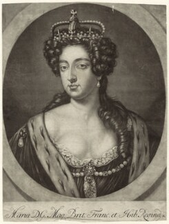 Queen Mary II, after Unknown artist - NPG D32781