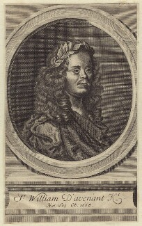 Sir William Davenant, after John Greenhill - NPG D30154