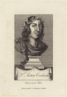 Sir Aston Cockayne, Bt, by R. Clamp, after  Unknown artist, published by  E. & S. Harding - NPG D30161