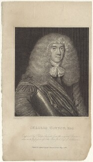 Charles Cotton, by Philipp Audinet, after  Sir Peter Lely - NPG D30164