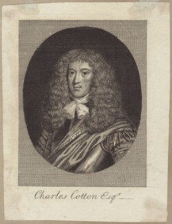 Charles Cotton, after Sir Peter Lely, published by  William Richardson - NPG D30165