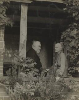 Sidney James Webb, Baron Passfield; Beatrice Webb, by Unknown photographer - NPG P1292(60)
