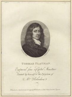 Thomas Flatman, by John Godefroy, published by  William Richardson, after  Thomas Flatman - NPG D30174
