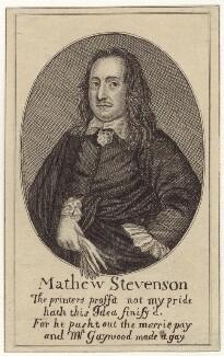 Matthew Stevenson, by Richard Gaywood - NPG D30178
