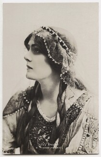 Lily Brayton as Iseult in 'Tristram and Iseult', by Rita Martin, published by  Aristophot Co Ltd - NPG x131449