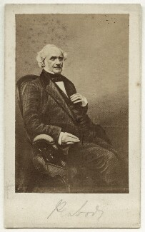 George Peabody, after Daniel John Pound, after  Horatio Nelson King - NPG Ax18244