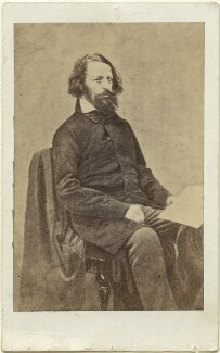 Alfred, Lord Tennyson, after James Mudd - NPG Ax18237