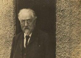Sidney James Webb, Baron Passfield, by L. Vulb - NPG P1292(66)