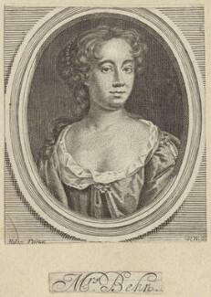 Aphra Behn, by Robert White, after  John Riley - NPG D30183