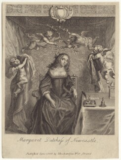 Margaret Cavendish (née Lucas), Duchess of Newcastle upon Tyne, after Abraham Diepenbeeck, published by  William Richardson, published 1800 - NPG D30184 - © National Portrait Gallery, London